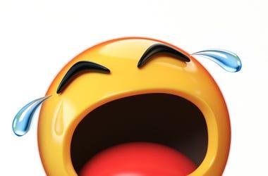 Crying emoji