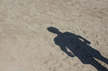Beach body shadow