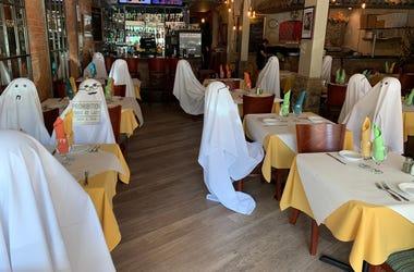 Ghosts at Trattoria Da Luigi