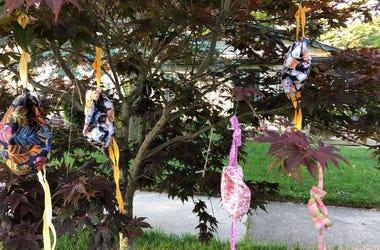 Karen Sayles Mask Tree