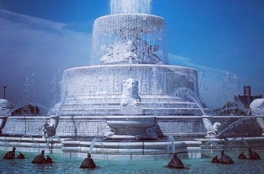 Scott Fountain at Belle Isle