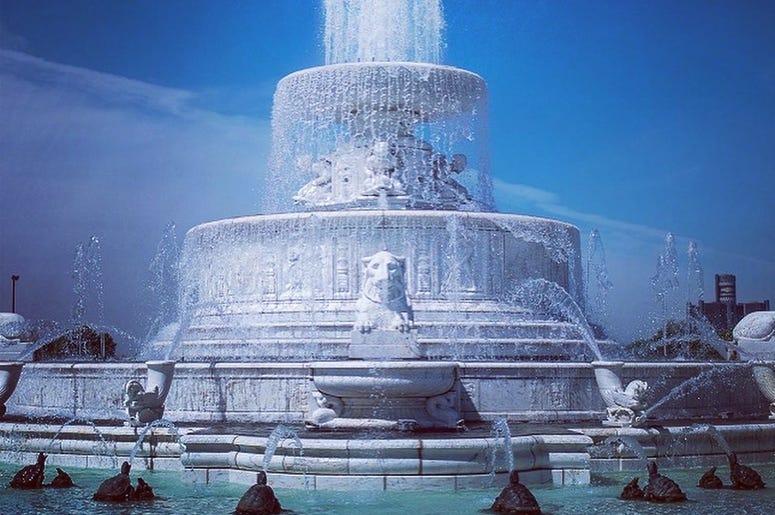 Scott Fountain at Belle Isle