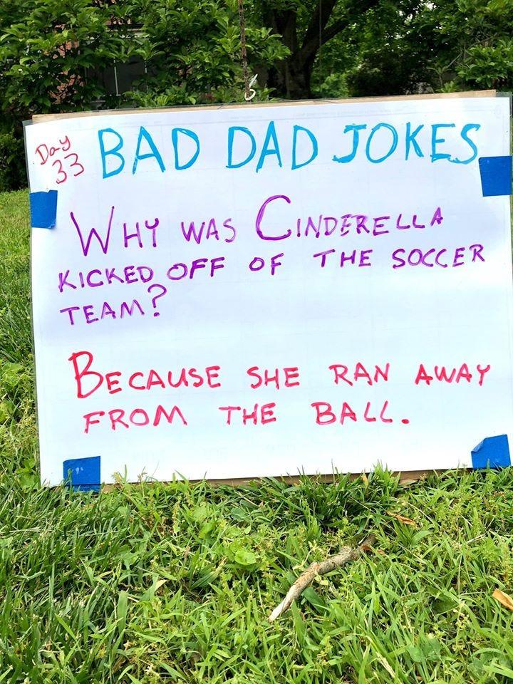 One of Tom Schruben's Dad Jokes