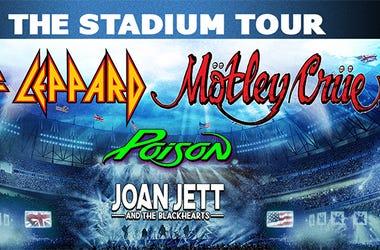 def leppard stadium tour