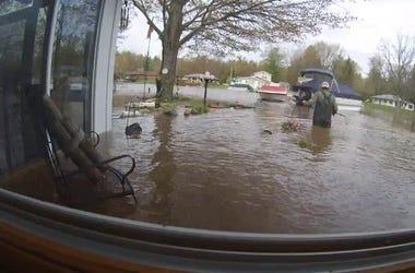Midland area flooding