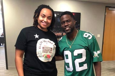 Nailah Ellis Brown and Kevin Hart