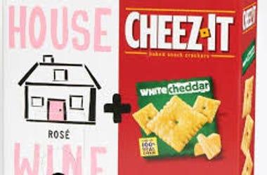 Rose and CheezIt Box