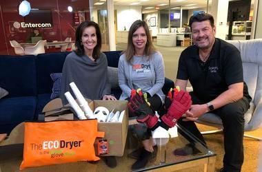 Stephen & JoAnn with Karen Smoots, creator of EcoDryer