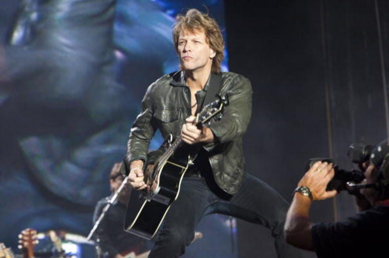 Jon Bon Jovi tour in Detroit