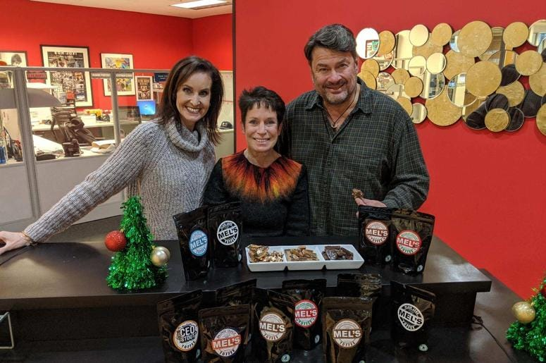 Michelle Williamson from MEL's Toffee