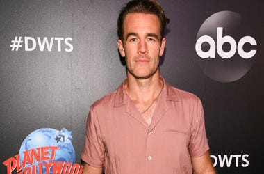 "Actor James Van Der Beek arrives at the 2019 ""Dancing With The Stars"" Cast Reveal at Planet Hollywood Times Square on August 21, 2019 in New York City."
