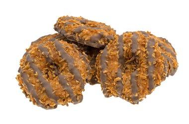 Caramel Coconut Fudge Cookie