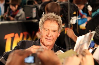 """""""Indiana Jones And The Kingdom Of The Crystal Skull"""" Japan Premiere"""