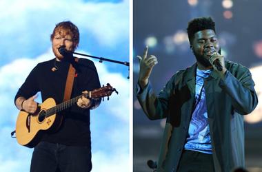 Ed Sheeran and Khalid