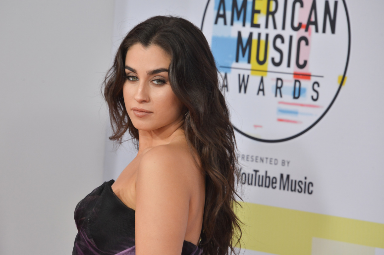 Lauren Jauregui at the 2018 American Music Awards