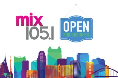 MIX 1051 Open for Business