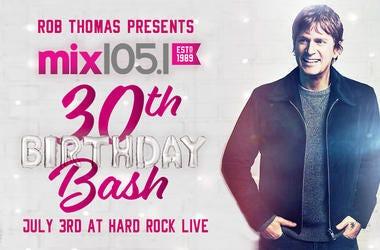 Mix 30th Rob Thomas