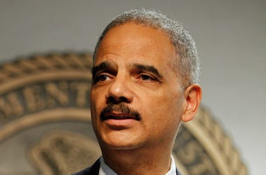 Eric Holder talks with the Joe Clair Morning Show
