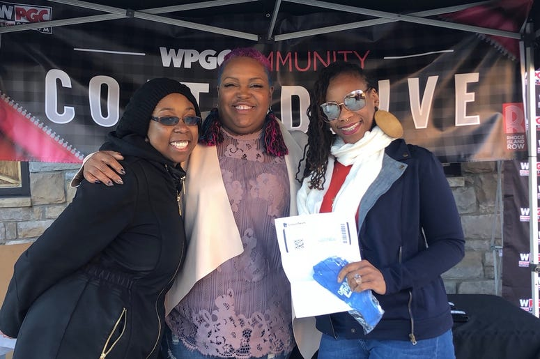 WPGC's annual Coat Drive went down at Carolina Kitchen in Northeast D.C.