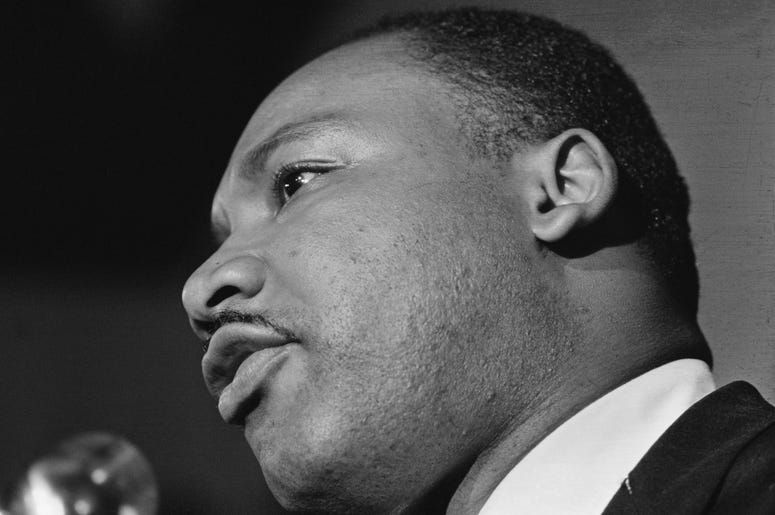 Dr. Martin Luther King Jr. Speaking
