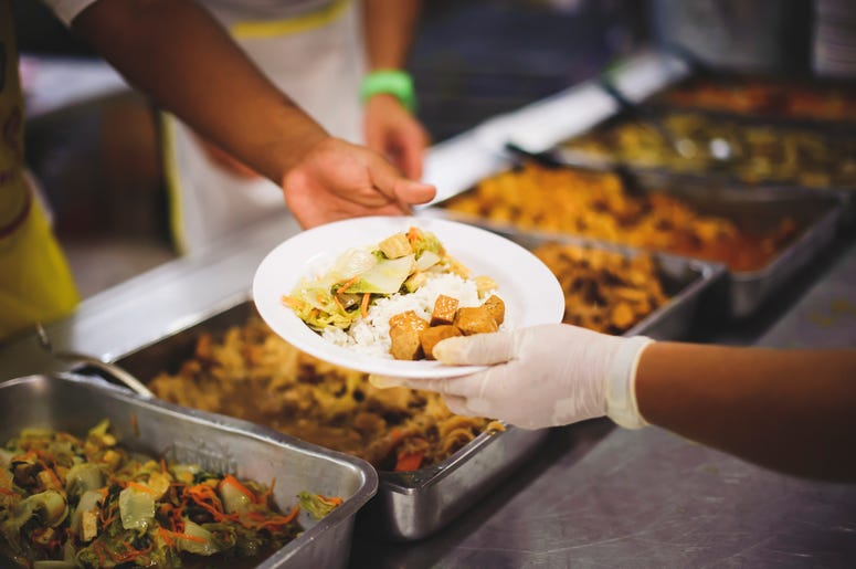Businesses are allowing customers to pay meals forward.