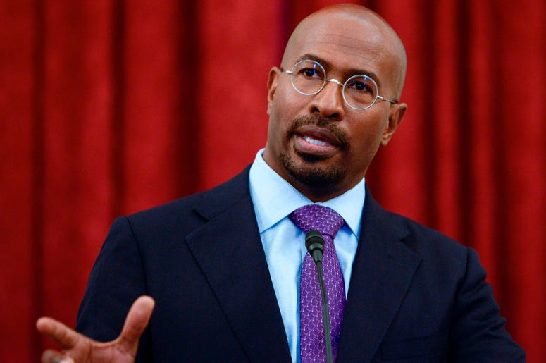Van Jones has been an advocate for #JusticeReformNOW.