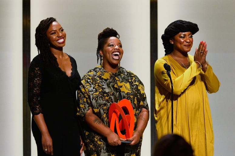 Opal Tometi, Patrisse Cullors, and Alicia Garz started the Black Lives Matter movement.