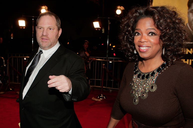 Twitter users have called out Oprah for her friendship with Harvey Weinstein.