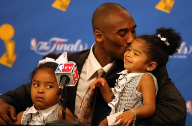 Kobe Bryant described himself as a girl dad.