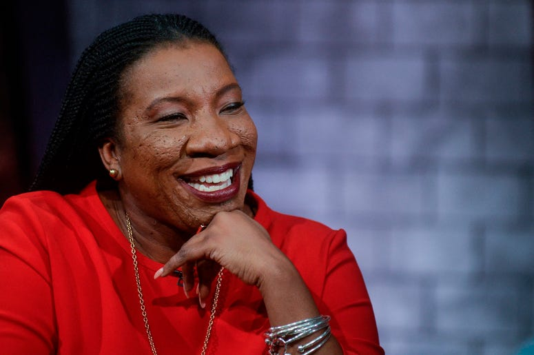 Tarana Burke is the founder of the #MeToo movement.