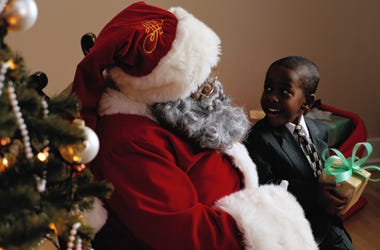 A mom created an app to help you locate Black Santas.