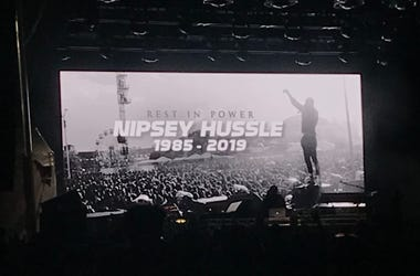 Nipsey Hussle tributes were sprinkled throughout Broccoli City Festival.