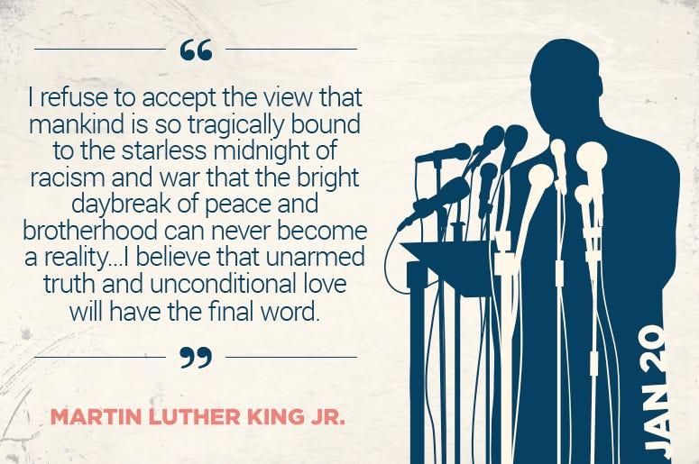 Celebrate MLK Day!