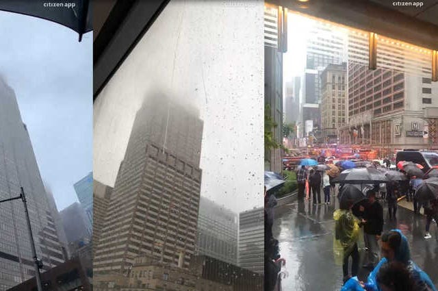 helicopter crash in Midtown, Manhattan