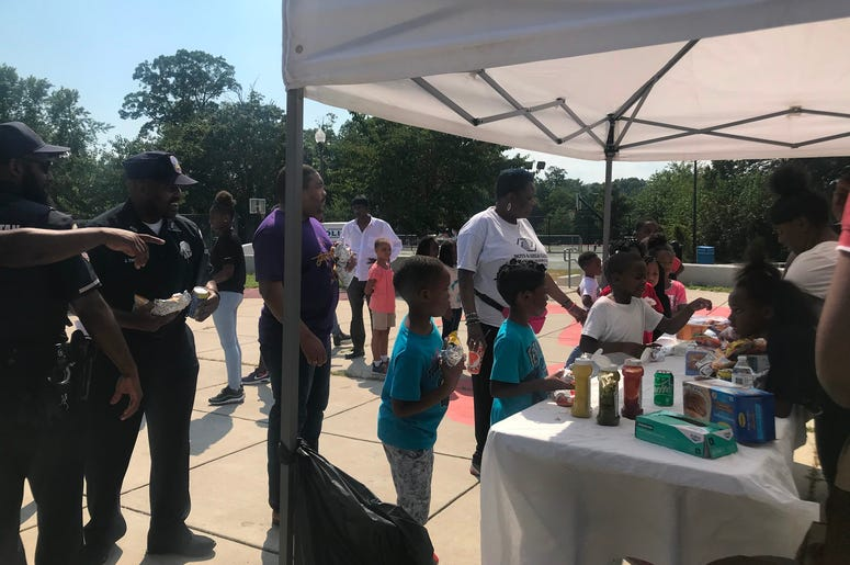 National Night Out emphasized collaboration between police and the community.