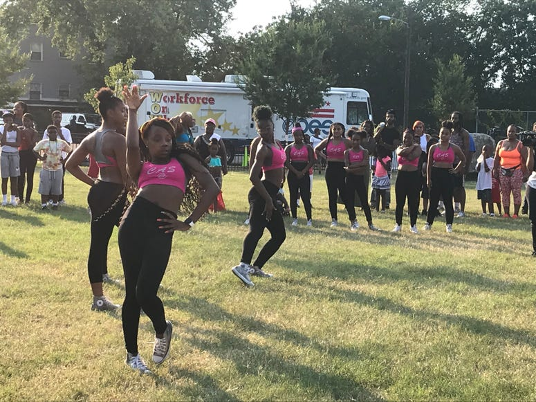 National Night Out performance.