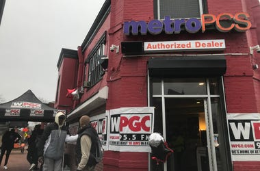 WPGC held a radiothon to raise money for the go-go museum.