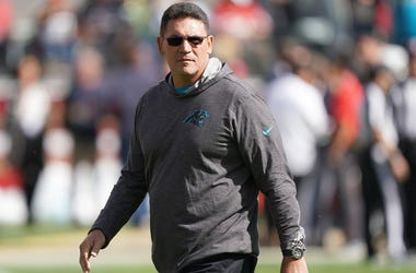 Redskins coach Ron Rivera