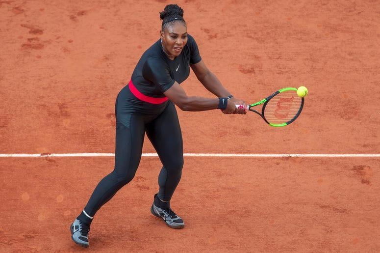 Serena Williams French Open tennis