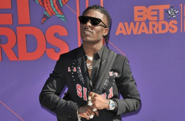 Lil Uzi Vert arrives at the 2018 BET Awards held at the Microsoft Theater in Los Angeles, CA on Sunday, June 24, 2018.