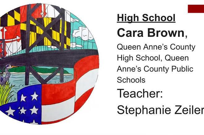 Maryland Vote Sticker Design