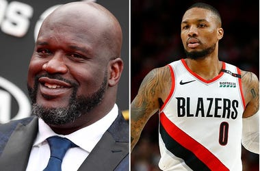 Damian Lillard responds to Shaq diss track.