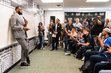 """LeBron James is adding housing to his """"I Promise"""" school."""