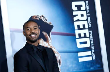 Michael b Jordan attends 'Creed II'