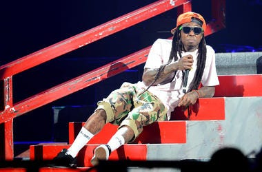 A stampede was caused at Lil Waynes Lilweezyana concert.
