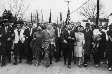 Martin Luther King Jr. Marching