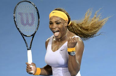 Serena williams becomes second black woman tennis player to be featured on Wheaties box.