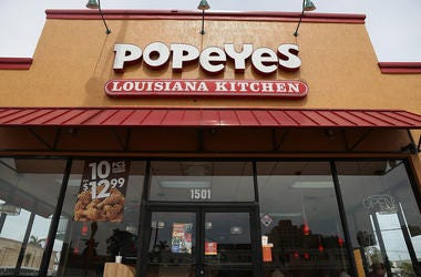 Popeyes is officially sold out of its new chicken sandwhich.