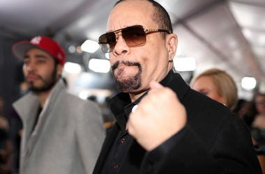 Ice-T says he loves dogs more than people.