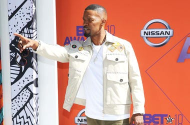 Jamie Foxx attends the 2018 BET Awards